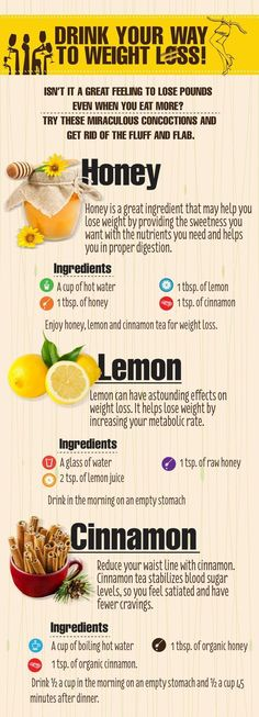 ... however I am a fan of natural products. Drink your way to WEIGHT LOSS