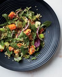 Quinoa Salad with Sweet Potatoes and Apples