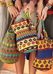 Andean cotton fiber bags