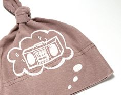 thought bubble baby hat $15.00