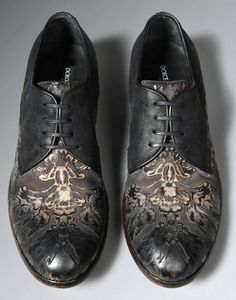 embroidered shoes from dolcegabbana winter 2014 collection shoes. Black Bedroom Furniture Sets. Home Design Ideas