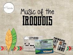 Looking for a way to incorporate Native American music into your music lessons? This comprehensive set, focused on the tribes of the Iroquois nation, could be used for Thanksgiving or during any time of the year you want to teach about the music and culture of Native Americans.