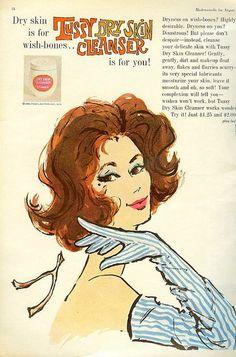 #1960s #vintage #sixties #makeup #beauty #cosmetics #fashion #style #wishbone