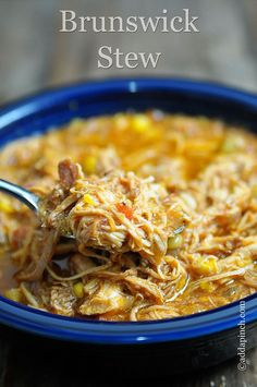 Brunswick Stew Recipe - Cooking | Add a Pinch | Robyn Stone- I love this and it's prep time is only 10 minutes, put it all in a pot and cook for 30 minutes. Quick and Easy...a favorite!