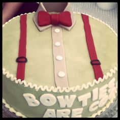Bow Ties Are Cool Cake (from Carla Ventura)