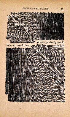 cc Newspaper Blackout poems //