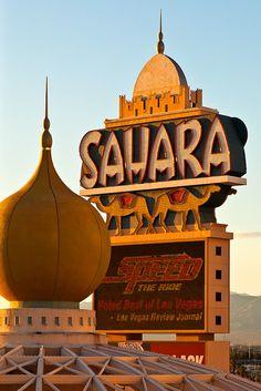 Sahara Hotel-Casino  Las Vegas, Nevada  1952-2011
