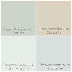 sherwin williams sea salt vs sea salt cut 50 house