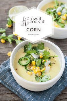Sweet Corn & Coconut Milk Chowder