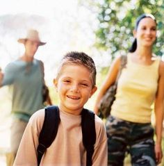hike with your family
