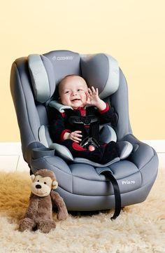 Baby Essentials: Baby stays safe in a snuggly car seat that can be used for rear-facing newborns up to front-facing toddlers. #Nordstrom