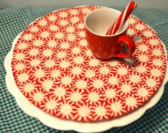 starlight mints plate | Pictures - How to make a festive peppermint candy tray for cookies and ...