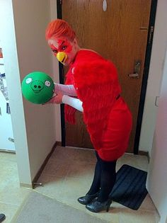 Angry Birds Homemade Costumes