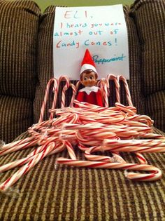 #Elf on the Shelf Ideas