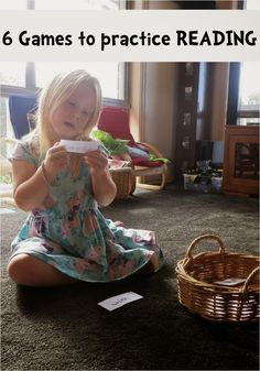 Learn with Play at Home: Learn to Read. 6 Reading Games