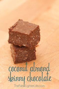 Trim Healthy Mama's Skinny Chocolate ~ 3 Different Ways.