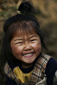 Gangtruk girl - Nepal by Ray maï, via Flickr   Join the Belly Laugh Bounce Around the World on January 24, Global Belly Laugh Day. On Jan. 24 at 1:24 p.m. (local time) smile, throw your arms in the air and laugh out loud.