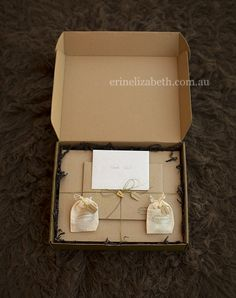 New Client Packaging | Erin Elizabeth Perth Newborn Photography    thank you for sharing all the vendors you have used..appreciated