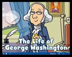 Life of George Washington video from Scholastic