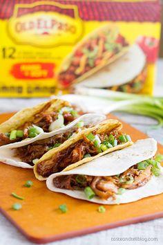 Honey Garlic Chicken Tacos
