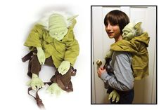 I love this Yoda backpack