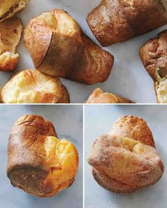 Giant Cheese Popovers | Martha Stewart, Cheese and Videos