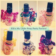 Burdette Family Creations: E's My Little Pony Birthday Party