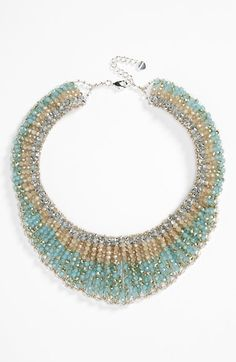 Free shipping and returns on Nakamol Design Crystal Collar Necklace at Nordstrom.com. Faceted, multicolor beads fashion a handmade collar necklace that frames the face with rich sparkle.