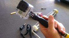 Easy budget GoPro DIY grip handle and pole mount