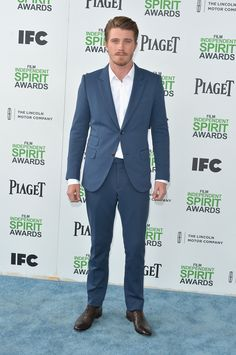 Garrett Hedlund at the Spirit Awards