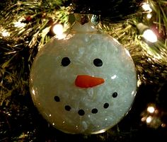 DIY - Snowman Ornament