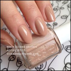 Essie Picked Perfect – Essie Spring 2015. For all the swatches, click on thru to www.imabeautygeek.com!