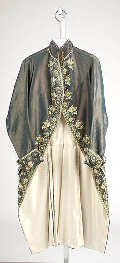 Coat Date: third quarter 18th century Culture: French Medium: silk Dimensions: [no dimensions available] Credit Line: G... Accession Number: C.I.43.90.23