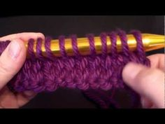 How to Knit & Purl Continental