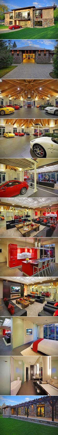 Garage layout on pinterest dream garage garage and for Garage sees automobile