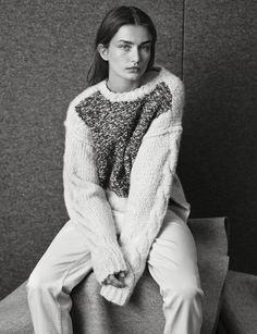 Andreea Diaconu for Isabel Marant Pre-Fall 2014-2015
