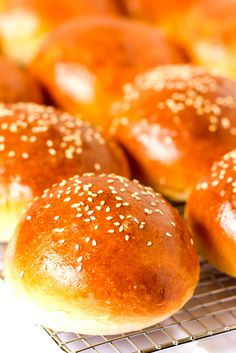 Make my own hamburger buns? I could do that. I hate grocery store hamburger buns (what is that stuff?).