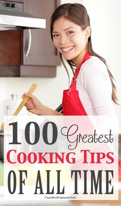 100 Greatest Cooking Tips of All Time from Food Network Chefs
