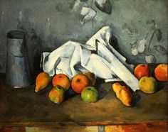 Paul Cézanne. Milk Can and Apples. 1879-80. MoMA, NYC | Flickr - Photo Sharing!