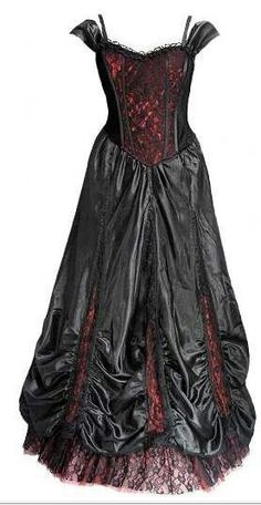 Red amp black on pinterest gothic gothic wedding dresses and goth