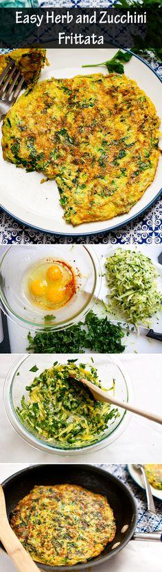 Tuna, Feta and Zucchini Frittatas #frittatas #tuna #feta #zucchini www ...