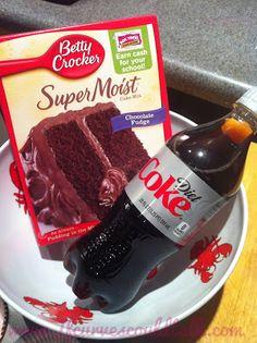 Diet Coke Cake Points