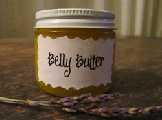 Homemade Belly Butter (All-Natural Pampering for Pregnant Mamas)
