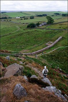 B And B Along Hadrian's Wall Hadrian's Wall. I'm doing a coast to Coast, roughly along the wall ...