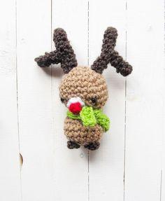 Little Things Blogged: Amigurumi Rudolph Christmas Pattern
