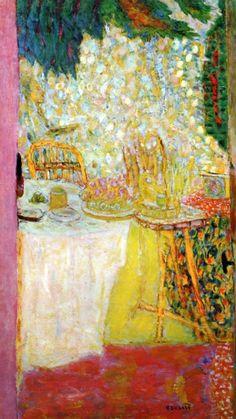 dappledwithshadow: The Open Door Pierre Bonnard - circa 1937