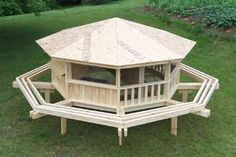 Pin by siletz oregonfarm on coops other cool chicken for Gazebo chicken coop