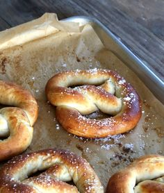 gluten free soft pretzels