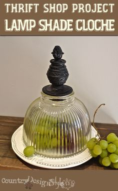 what to do with those old light fixture covers turn them into dessert. Black Bedroom Furniture Sets. Home Design Ideas