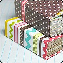 Board book DIY -- Love this idea.